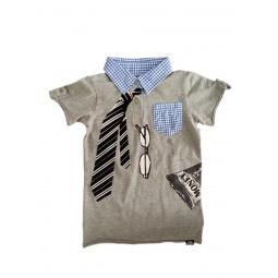 фото Рубашка-поло с коротким рукавом Mini Shatsu Ceo. Рост: 128-134 см