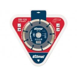 фото Диск алмазный Stomer для сухой резки. Модель: DD-125. Размер: 125 мм