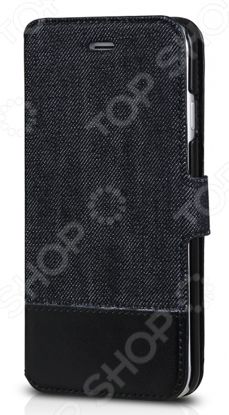 Чехол для iPhone 6 Plus ITSKINS Angel-BKBLЗащитные чехлы для iPhone<br>Чехол для iPhone 6 Plus ITSKINS Angel-BKBL надежно защитит ваш смартфон при повседневном использовании от грязи, пыли, царапин и потертостей. Представленная модель выполнена в виде книжки, поэтому от внешнего воздействия защищена не только задняя крышка, но и дисплей дорогостоящего девайса. Чехол изготовлен из качественных материалов и не скользит в руке, а рельефная поверхность придает изделию стильный и модный вид. Чехол не блокирует какие-либо разъемы устройства, а потому не препятствует комфортному использованию. На внутренней стороне имеется отделение для кредитной карты. ITSKINS Angel-BKBL придаст телефону уникальный вид и подчеркнет вашу индивидуальность.<br>