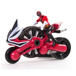 Купить Мотоцикл игрушечный с фигуркой Power Rangers «Могучий рейнджер и Самурай». В ассортименте