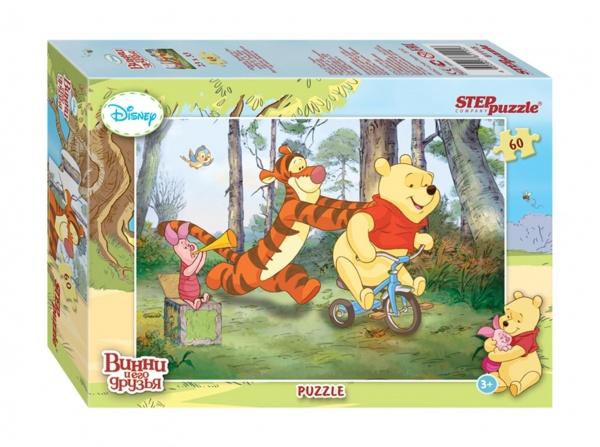Disney снова приглашает в Большой лес, где Вас ждет новая долгожданная встреча с Винни Пухом и его друзьями. Пазлы с сюжетами о новых приключениях медвежонка Винни, выполнены в классическом стиле знаменитых мультфильмов Disney.