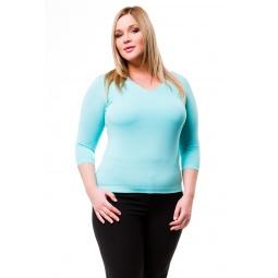 фото Кофта Mondigo XL 052. Цвет: мятный. Размер одежды: 52