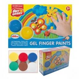 Купить Краски пальчиковые большие Erich Krause Artberry: 6 цветов