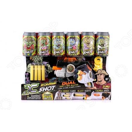 Купить Бластер с мишенями Xshot «Двойной выстрел»