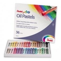 фото Пастель масляная Pentel Oil Pastels PHN4-36