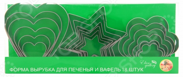 Форма для печенья Elan Gallery 590170 sweeterella набор сдобного печенья ассорти 710 г