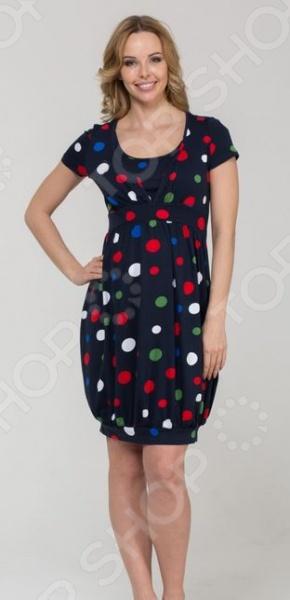 Платье для беременных Nuova Vita 2124.2. Цвет: синий цена 2017