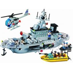 фото Игровой конструктор Brick «Ракетный крейсер» 821