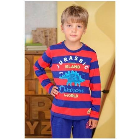 Купить Лонгслив для мальчика для мальчиков Detiland AW15-UKN-BTL-019. Цвет: красный