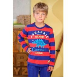 фото Лонгслив для мальчика для мальчиков Detiland AW15-UKN-BTL-019. Цвет: красный. Рост: 122 см