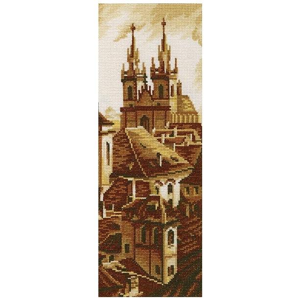 фото Набор для вышивания RTO «Силуэты старой Праги»