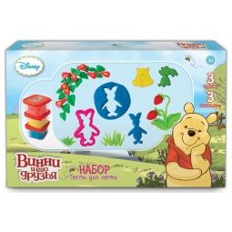 Купить Набор теста для лепки 1 Toy «Winnie the Pooh» Т57456
