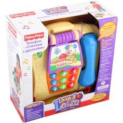 фото Телефон игрушечный Fisher Price Смейся и учись (на русском и английском)