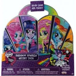 Купить Набор бархатных постеров Fashion Angels Equestria girls Rainbow Rocks