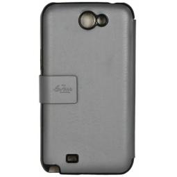 фото Чехол LaZarr Cover Case для Samsung Galaxy Note 2 N7100. Цвет: серый