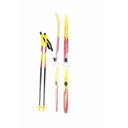фото Комплект лыжный с палками и креплениями Karjala Snowstar