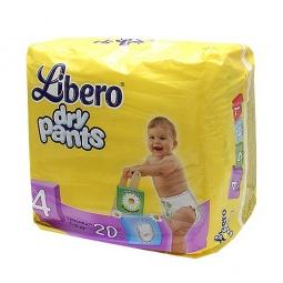 Купить Трусики детские LIBERO Dry Pants Maxi
