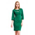 Фото Платье Mondigo 5196. Цвет: темно-зеленый. Размер одежды: 42
