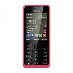 фото Мобильный телефон Nokia 301. Цвет: розовый