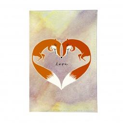 фото Обложка для автодокументов Mitya Veselkov «Влюбленные лисички»