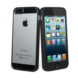 фото Чехол и пленка на экран Muvit Bimat для iPhone 5. Цвет: черный