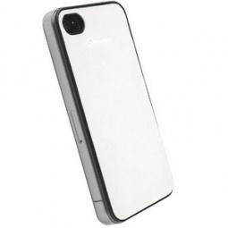 фото Накладка Krusell DONSo UnderCover для iPhone 4. Цвет: белый