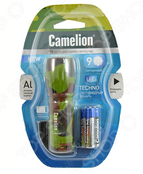 Фонарик Camelion C-5107ML фонарик брелок camelion c led08 1r