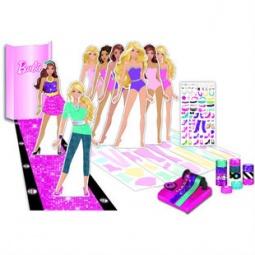 Купить Набор для творчества с картонными куклами Fashion Angels Barbie 22330