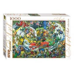 фото Пазл 1000 элементов Step Puzzle Время передохнуть