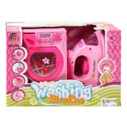 фото Игровой набор для девочки Shantou Gepai «Стиральная машина и утюг»