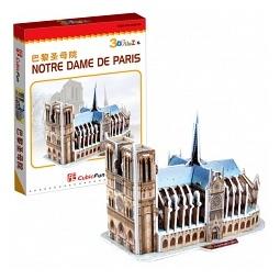 Купить Пазл 3D CubicFun «Нотрдам де Пари»