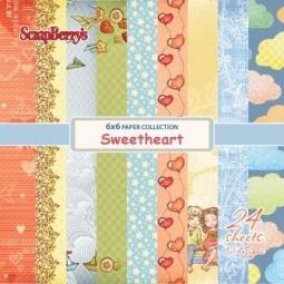 фото Набор бумаги для скрапбукинга ScrapBerry's «Мальчик и Девочка»