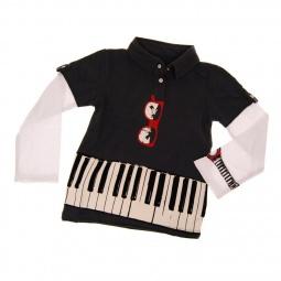 фото Кофточка с длинным рукавом Mini Shatsu Keyboardist