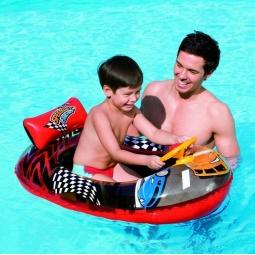 Купить Лодка надувная детская с рулем Bestway «Ралли» 34090