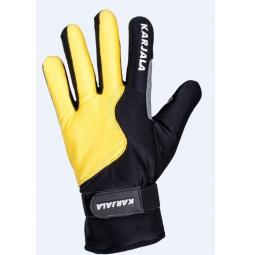 Купить Перчатки для лыж Karjala P171569. Цвет: желтый, черный