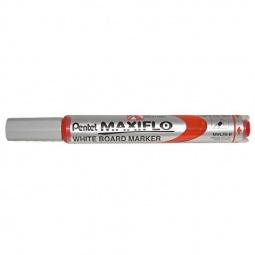 фото Маркер для досок Pentel Maxiflo. Цвет: красный