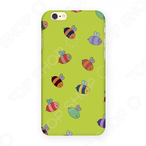 Чехол для iPhone 6 Mitya Veselkov «Пчелки» IP6 061 mitya veselkov будка в лондоне