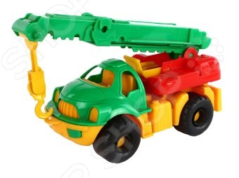 Машинка игрушечная Нордпласт «Автокран Малыш»