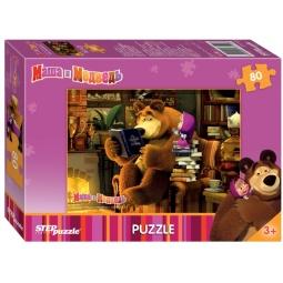 фото Пазл 80 элементов Step Puzzle «Маша и Медведь» 77112