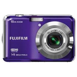 фото Фотокамера цифровая Fujifilm FinePix AX500. Цвет: пурпурный
