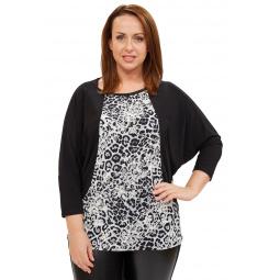 Блуза Pretty Woman «Вилла Россе». Цвет: черный, белый