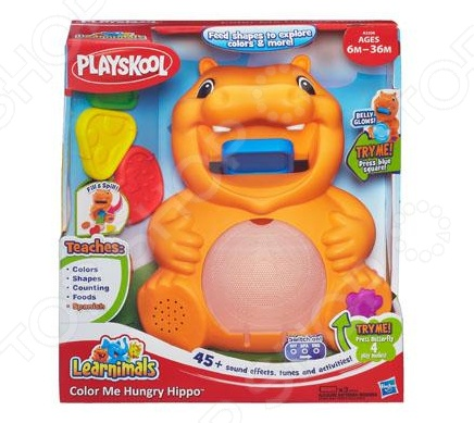 фото Игрушка обучающая Hasbro «Бегемотик», Другие развивающие игрушки и игры