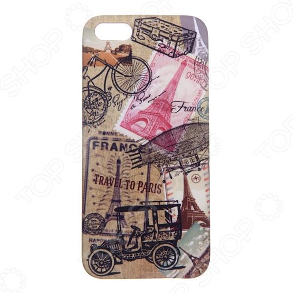 Чехол для iPhone 5 Mitya Veselkov «Ретро-Париж» стоимость