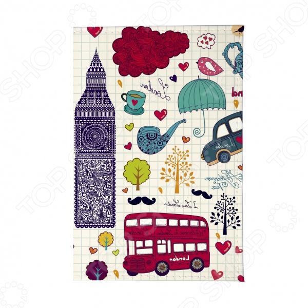 Обложка для паспорта Mitya Veselkov «Утренний Лондон»