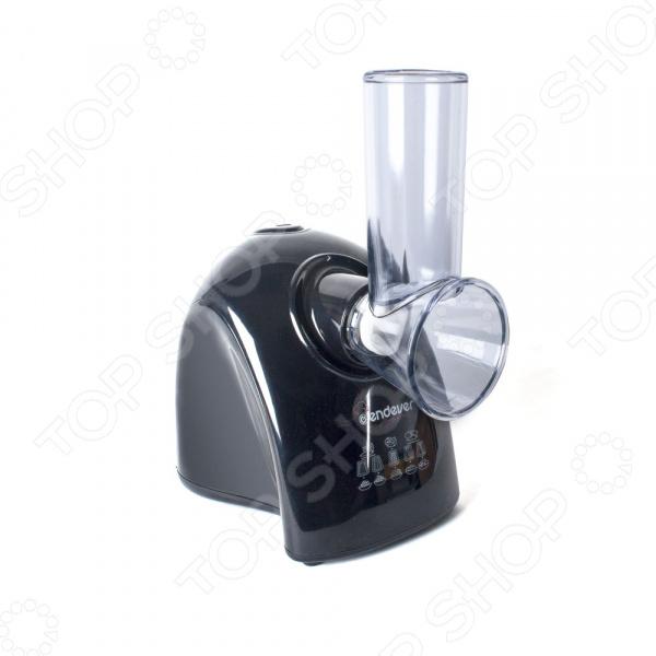 Измельчитель Endever Skyline SM-04Измельчители электрические<br>Измельчитель Endever Skyline SM-04 компактный и функциональный прибор, который станет великолепным дополнением вашей бытовой техники для кухни. Этот удобный прибор поможет вам не только приготовить вкусные и аппетитные блюда, но и максимально сократить время на их приготовления. Особенность данной модели заключается в наличии удобного загрузочного лотка, благодаря чему она отлично справится с измельчением самых различных продуктов: мяса, овощей, фруктов, зелени, сухариков и прочего. Измельчитель совмещает в себе не только профессиональное качество, но и стильный современный дизайн, практичность и удобство в использовании. Устройство легко разбирается, моется и собирается. В комплект входят 5 насадок:  красная насадка для крупного натирания;  желтая насадка для мелкого натирания;  оранжевая насадка для перемалывания  белая насадка для нарезки тонкими ломтиками;  черная насадка для нарезки толстыми ломтиками. Для защиты ваших пальцев от возможных травм предусмотрен толкатель.<br>