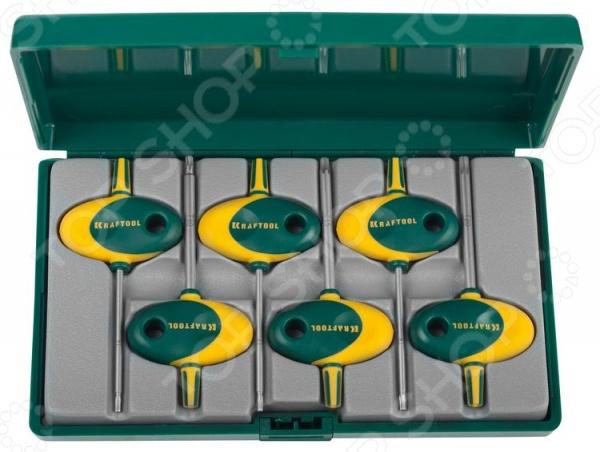 Набор ключей имбусовых для точных работ Kraftool Expert 27440-H6 набор ключей комбинированных stayer master 27085 h6