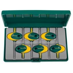 Купить Набор ключей имбусовых для точных работ Kraftool Expert 27440-H6