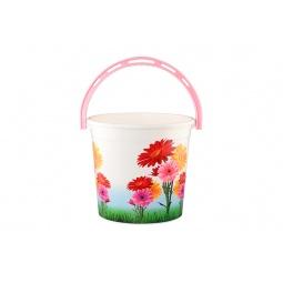Купить Ведро круглое Violet 0110БК «Цветы»