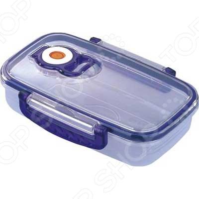 Контейнер для хранения продуктов с клапаном Bekker прямоугольный посуда для хранения продуктов bekker 2 5 л вк 5105