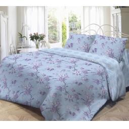 фото Комплект постельного белья Нежность «Сиреневое утро». 2-спальный. Размер наволочки: 50х70 см — 2 шт